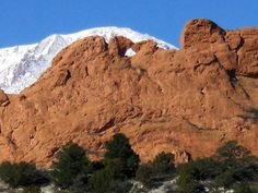 Kissing Camels - Garden of the Gods. Hiked there while pregnant with Liam and after when he was just a little thing in the pack.