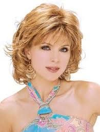 Image result for medium length layered hairstyles with bangs for women over 50