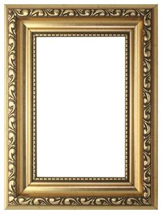 Gold - A1 Ready to hang Ornate Shabby Chic Picture/Photo/Poster frame with High Clarity Styrene Shatterproof Perspex Sheet & MDF backing board: Amazon.co.uk: Kitchen & Home