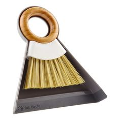 Tiny Team Mini Bamboo Brush & Dustpan Set by Full Circle | The Container Store