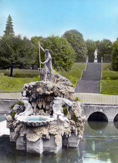 Boboli Gardens in Florence Tuscany, Italy