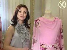 019 - Ольга Никишичева. Платье-цветок - YouTube