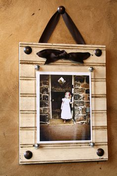 Beadboard picture frames. Available in horizonatl and vertical. Available in all sizes and colors. $21.00, via Etsy.