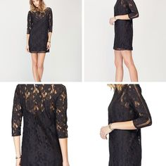 Gentle Fawn Hawk Black Lace Dress - XS - MD. #mooresville location only #salicelkn #salicemooresville #gentlefawn - $104