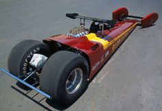 1972 Buttera Mag Dragster - 1963 - 1970 - Attempting to use aerodynamics to be quicker and faster