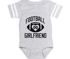 Football Girlfriend Persona Baby Football Bodysuit by ADMIN_CP133552528 : Football Girlfriend Persona Baby Football Bodysuit #Football #Girlfriend #Persona