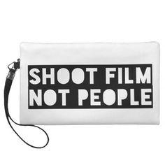 Shoot Film Not People Wristlet Film Tote