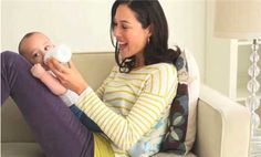 Watch How to Manage Breastfeeding - getting the baby to latch and advice on burping