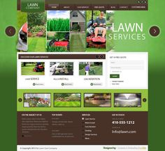 lawn care website templates - thelongwayup.info
