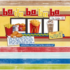Fast Food - Scrapbook.com