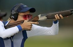 Jessica Rossi a outrageusement dominé l'épreuve de fosse olympique