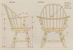 Design 1 for windsor chair Custom Woodworking, Woodworking Projects Plans, Teds Woodworking, Wooden Chair Plans, Wooden Armchair, Selling Furniture, Types Of Furniture, Wood High Chairs, Wooden Chairs