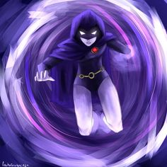 Raven - Teen Titans by freekarasunoninja