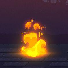 Resultado de imagen para pixel art fire