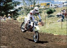Vey's Powersports Johnny O'Mara Motocross Riders, Off Road Bikes, Off Road Racing, Vintage Motocross, Evo, Offroad, Cycling, Twin, Motorcycles