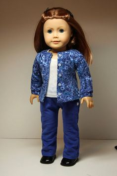 American+Girl+Doll+ClothesSweater+Top+and+by+sewurbandesigns,+$24.00