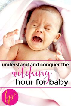 Discover the witching hour baby tips, tricks, and truth that will help mom understanding, conquering and end the witching hour for her baby! #witchinghourbaby #newbornbaby #baby #crying #babycare Newborn Schedule, Baby Sleep Schedule, Taking Care Of Baby, Toddler Potty Training, Baby Information, Baby Development, Newborn Care, Good Parenting, Baby Tips
