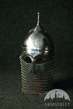 Mittelalter Helm Authentische Osteuropäische Version