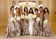 Beautiful Brides Maids