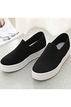 Azbro Mujer Slip-Ons Zapatillas de Plataforma: Amazon.es: Zapatos y complementos