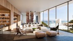 Private Vila in the West Coast on Behance