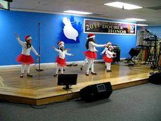 Jingle bells kids dance