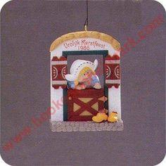 1986 - Hallmark Ornament - Windows of the World - Hallmark Keepsake Christmas Ornaments