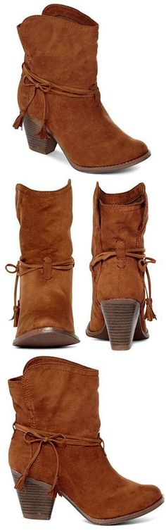MIA girl™ Boho Boots, ankle bootie. Love, love, love!!