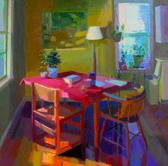 Art is not a luxury, it is a necessity. | Jennifer O'Connell Interior Paintings.