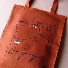 blueprint / S KŮSTKOU - taška nákupka Reusable Tote Bags