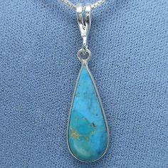 Arizona Turquoise Petite Pendant Necklace - Free Shipping