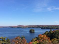 Lion's Lookout in Huntsville, ON Lions, Ontario, Wander, Road Trip, Around The Worlds, River, Colour, Fall, Travel