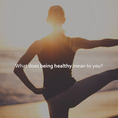 What does being healthy mean to you? No Junk Food Challenge, Health And Nutrition, Health Fitness, Beachbody Shakeology, 3 Day Refresh, P90x, Cleanse Recipes, 21 Day Fix, Muscle Fitness