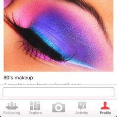 ... Makeup, 80S Makeup And Hair,