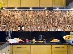 Crédence de liège Decoration, Art Deco, Interior, Kitchen, Food, Design, Lifestyle, Studio, Inspiration