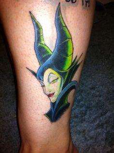 maleficent tattoo