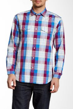 Prince of Plaid Long Sleeve Regular Fit Shirt