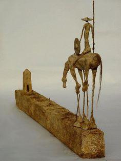 Don Quixote Sculpture by Jahrome | Don Quichotte | Pinterest ...