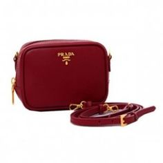 1c6d13601df6 £118.00 Outle Prada Saffiano Calf Leather Pouch 1n1674 Bordeaux Outlet Italy