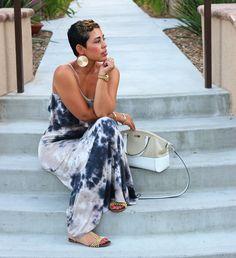Fashion, Lifestyle, and DIY: My Tie Dye Maxi Dress
