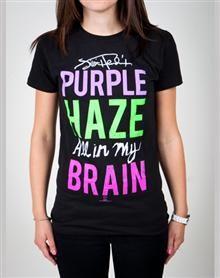 Jimi Hendrix 'Purple Haze' Junior Fitted Tee