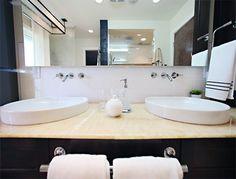 bathroom round sink ideas