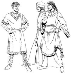 Normans, 10th century | Tom Tierney: Historic Costume