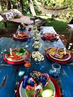 myinnerlandscape: Dinner Party Cores e Raízes