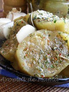 Aromas de Mamá | Recetas de Cocina | aromasdemama.com: BERENJENAS EN ESCABECHE