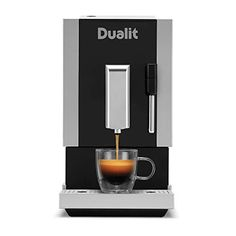 Dualit Bean to Go Machine - Barista Quality Professional Coffee Machine - Built in Coffee Grinder & Steam Wand Milk… AUTHENTIC TASTE WITHOUT THE HASSLE: At ... Barista Coffee Machine, Coffee Machines, Drip Coffee Maker, Professional Coffee Machine, Latte Macchiato, Italian Coffee, Health Recipes, Coffee Beans, Wands