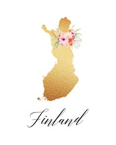 www.thecottagemarket.com CountryPrintables TCM-GoldFoil-Countries-Finland.png