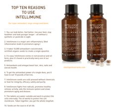These are the top 10 reasons to use Intelligent Nutrients Intellimune!