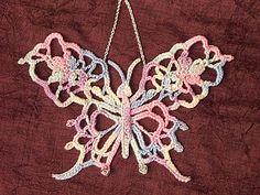 Butterfly Crochet Applique Pattern Free