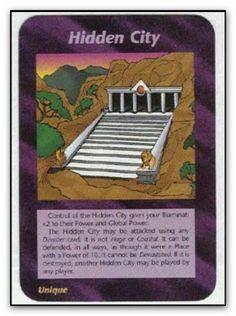 Illuminati Card Hidden City